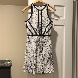 Black/ white dress from Bloomingdales -NEVER WORN